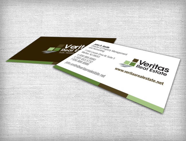 Veritas Business Card Design