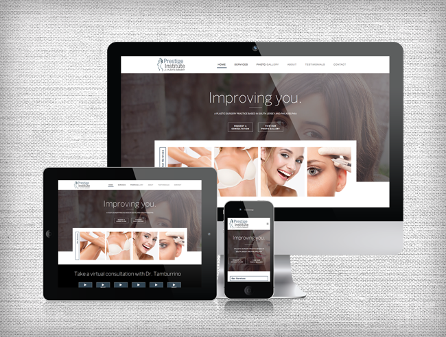 Prestige Institute of Plastic Surgery Website Design